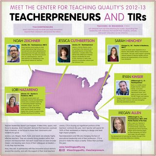 Teacherpreneur Announcement CTQ